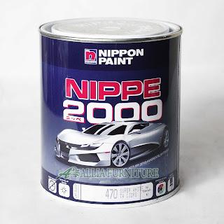 Cat duco mobil nippon paint untuk furniture