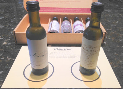 Tasting Kit Wine Subscription Review - White Wines