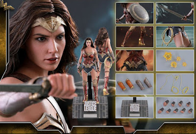osw.zone Hot Toys MMS450 1/6 scale Justice League Wonder Woman 12-inch Collectible Figure