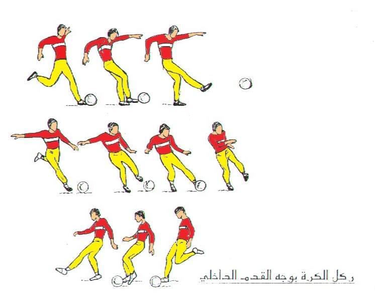من مهارات كرة القدم