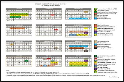 Kalender Pendidikan TK 2017/2018