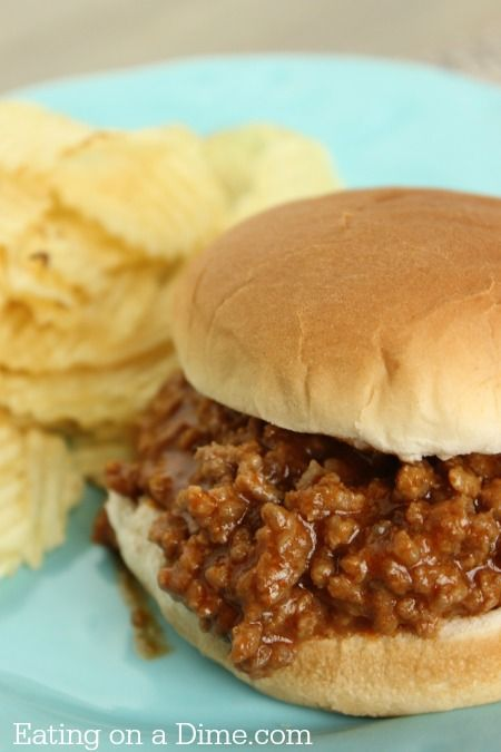 SLOPPY JOES RECIPE – ONLY 3 INGREDIENTS! #sloopy #joes #sloppyjoesrecipes #easyrecipes #easydinnerrecipes