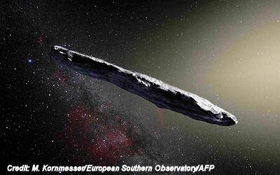 Oumuamua: Interstellar rock or sun-powered alien UFO?