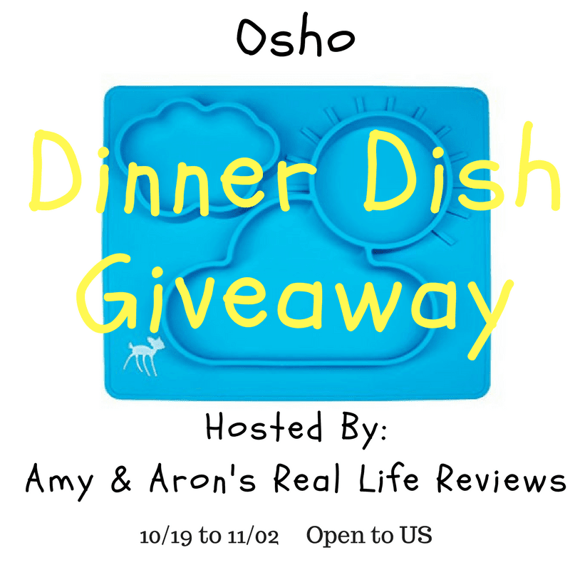 Dinner Dish Giveaway 11/01