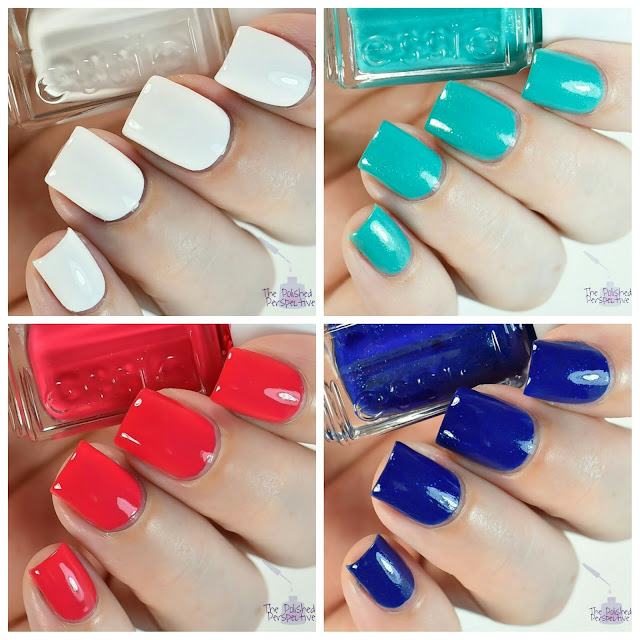 essie summer 2016 swatch and review