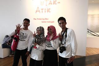 Bersama delegasi Makassar