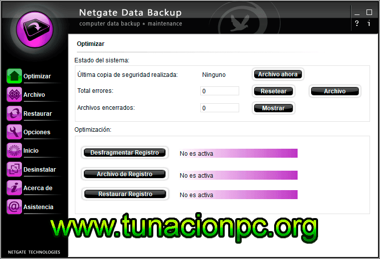 NETGATE Data Backup Full Español, Crea Copias de Seguridad