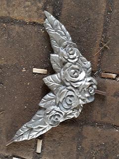 Hasil cetak pengecoran Ornamen Besi Tempa