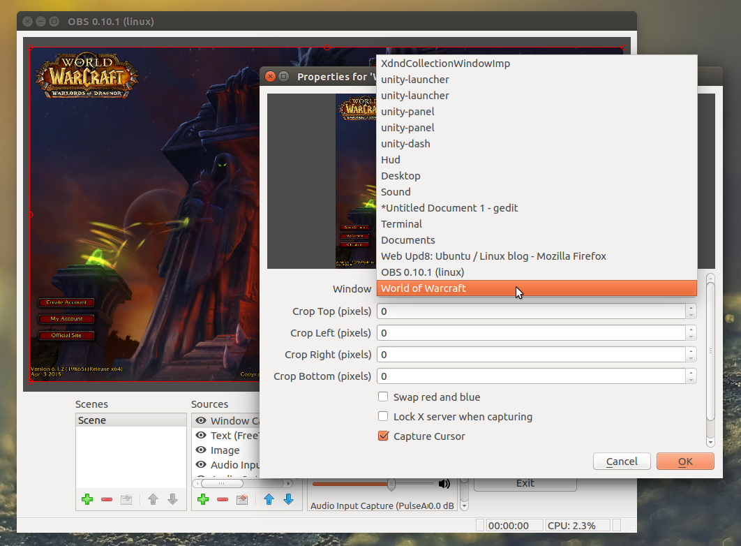 How To Stream To Twitch From Linux Using OBS Studio ~ Web