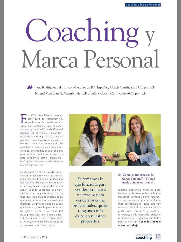 The Bold Choice en Cuadernos de Coaching de ICF