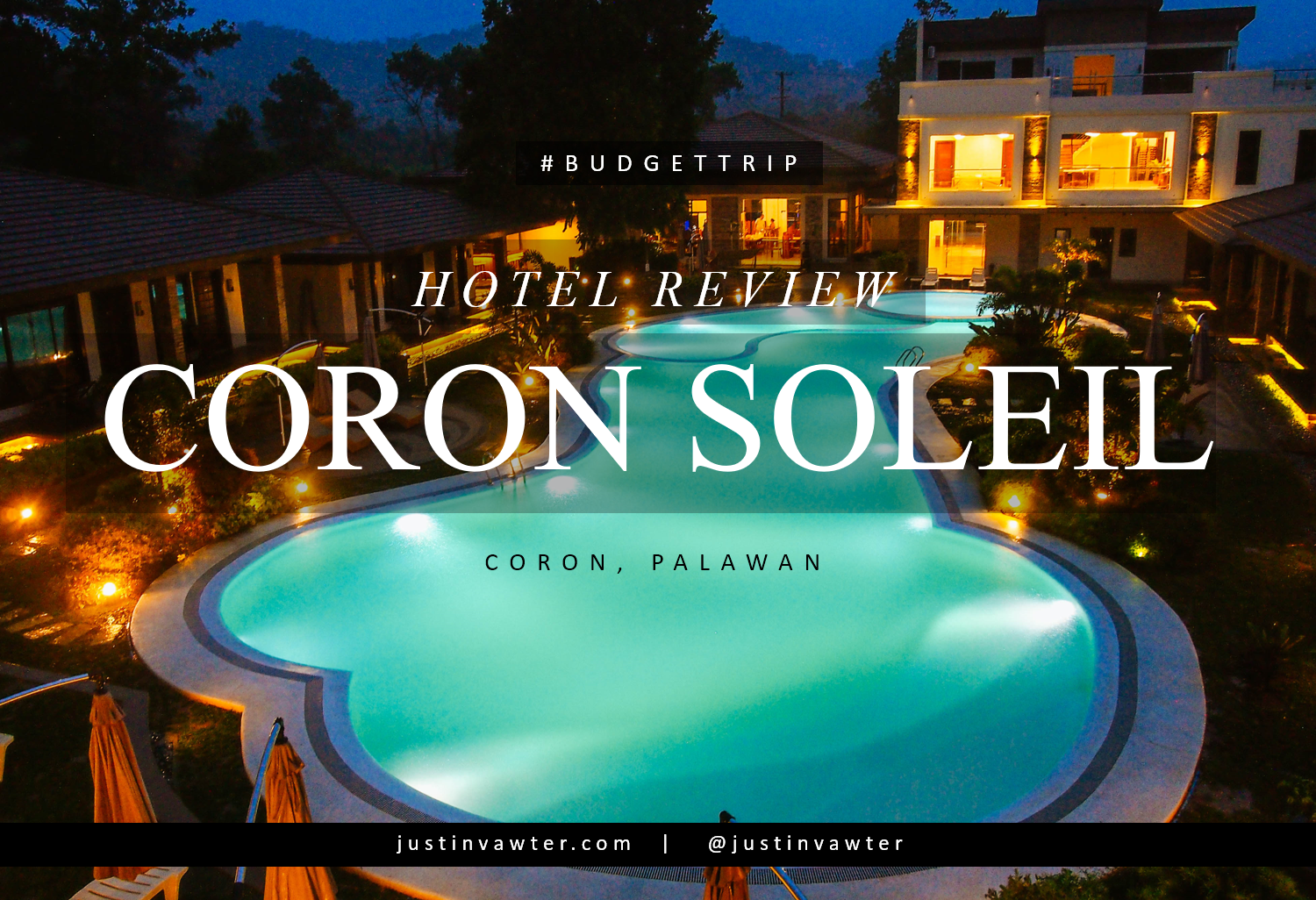 Imagine Yourself As The First Guest Of A New Hotel Pool Is All Yours Special Food And Room To That S What I Experienced At Coron