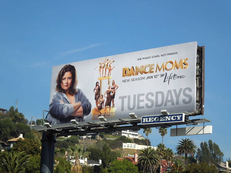 Dance Moms season 2 Lifetime billboard
