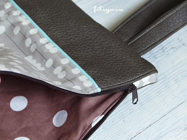 filigarn.blogspot.com - genähtes - BLOGPARTY und eine neue Lieblingstasche!