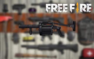 senjata terbaik free fire mgl 140