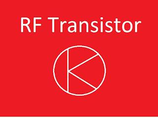 Mengenal transistor jenis RF