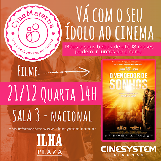 CineMaterna no Ilha Plaza