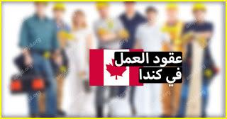 عقد عمل في كندا