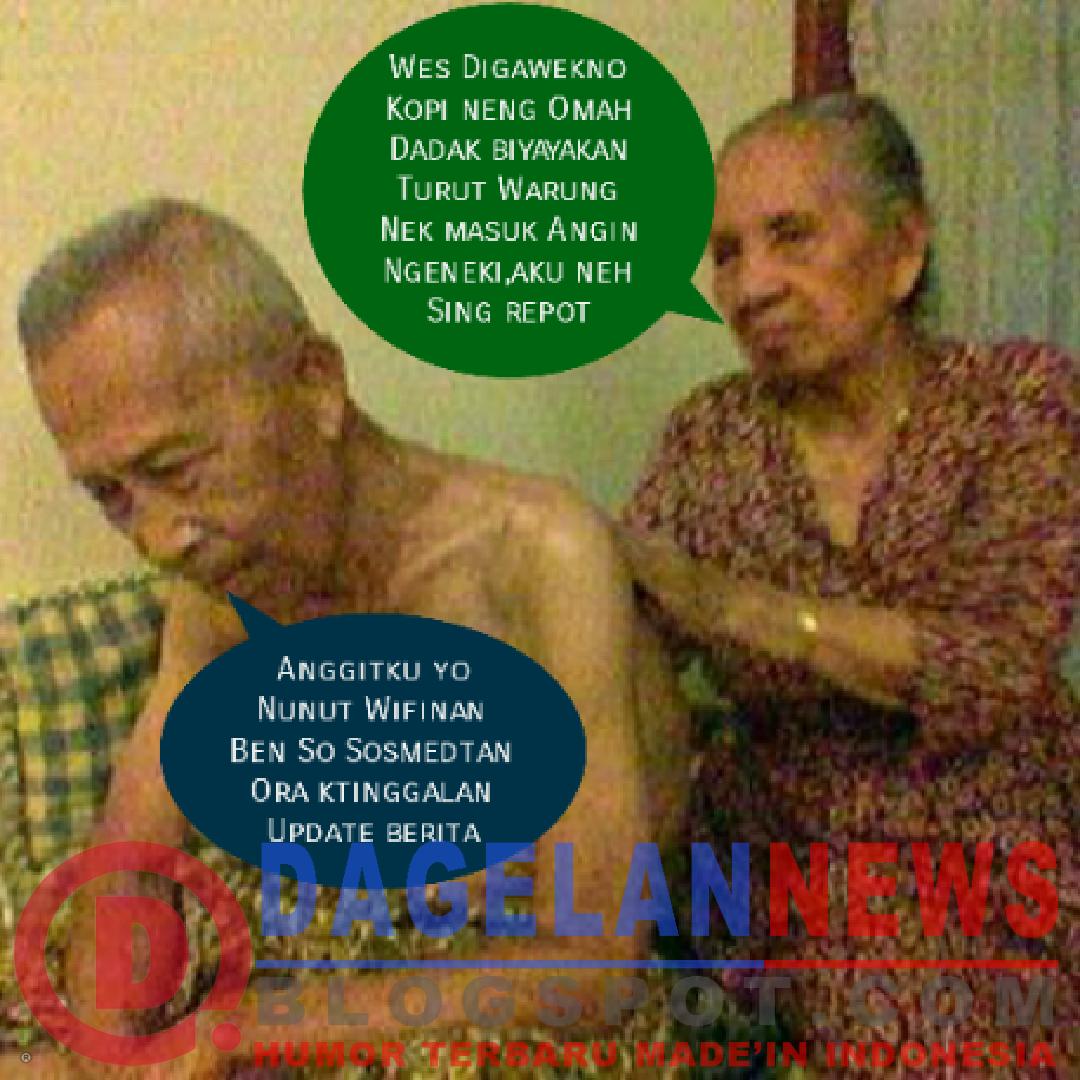 Obrolan Kocak Ringan Kakek Nenek Dagelan News