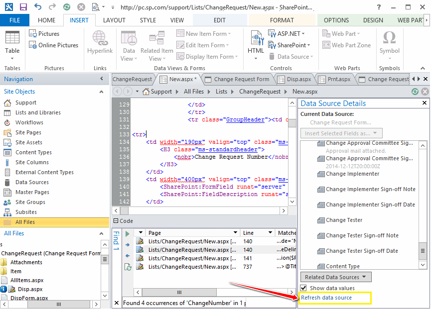 Add New column to Custom List Form in SharePoint 2013
