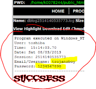 Sukses Fake Hack Facebook Menggunakan FTP