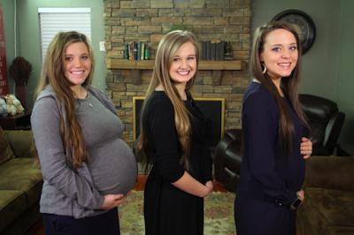 Joy Duggar Forsyth, Kendra Duggar, Jinger Duggar Vuolo pregnant