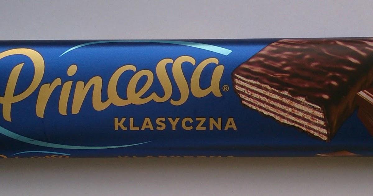 Chwile Zasłodzenia Wafelek Princessa Dark Chocolate Klasyczna