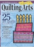Cover of Quilting Arts Magazine - Dec 2015 / Jan 2016