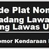 Kode Plat Nomor Kendaraan Padang Lawas & Lawas Utara