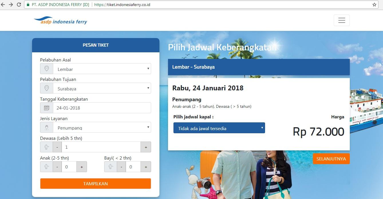 Panduan Cara Membeli Tiket Kapal Legundi Online Let S Go