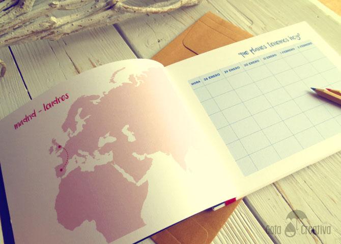 diario de viaje Londres Gota Creativa