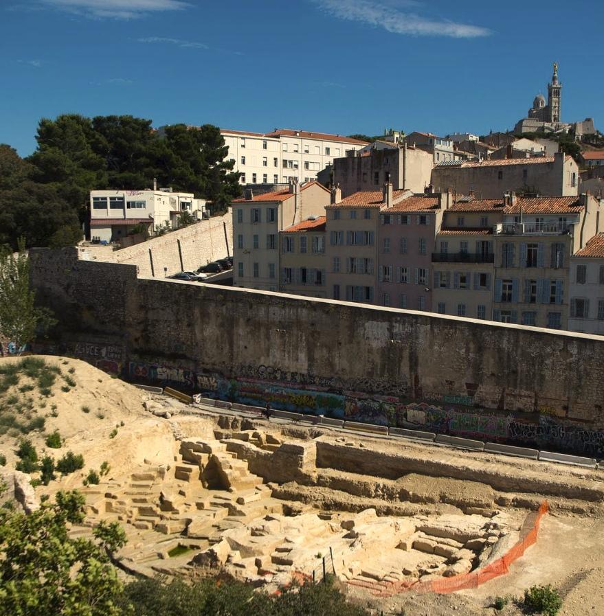 Βρήκαν τυχαία ελληνικό λατομείο του 5ου π.Χ. αιώνα στο κέντρο της Μασσαλίας!