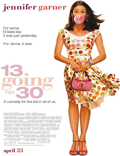 Ver Si yo tuviera 30 (13 Going on 30) (2004) Online