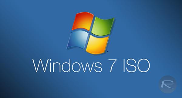 (ISO) Tổng hợp bộ cài Windows 7 Service Pack 1 chính thức từ Microsoft