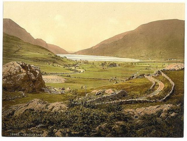 Old Color Landscape Photography Of Wales Vintage Everyday