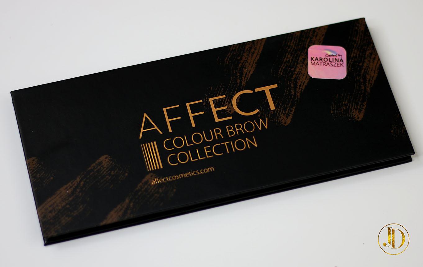 JEDNA PALETA - WIELE ZASTOSOWAŃ - Affect Cosmetics - Colour Brow Collection by Karolina Matraszek