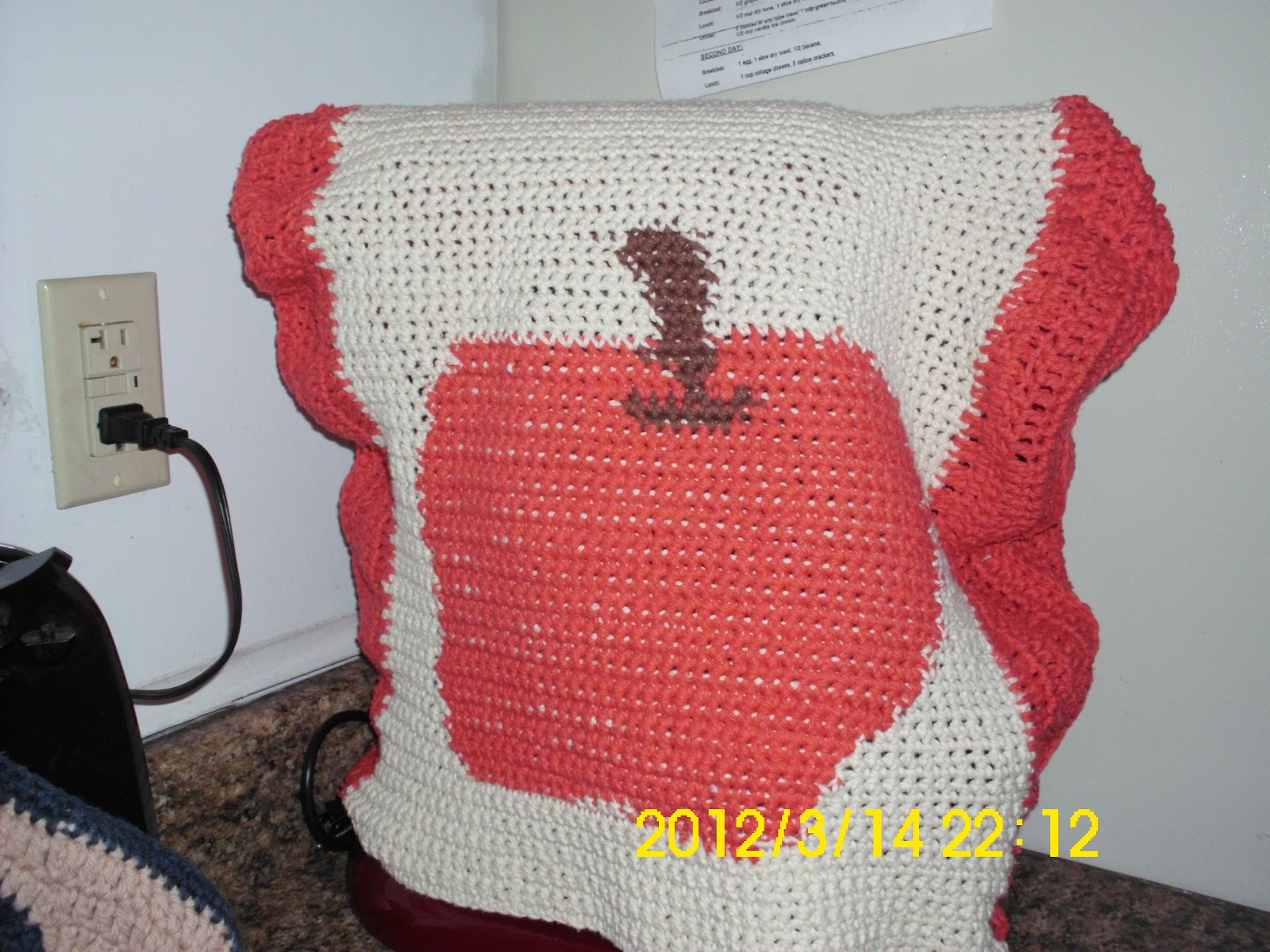 Mary Ann S Crochet My Original Pattern Mixer Cover