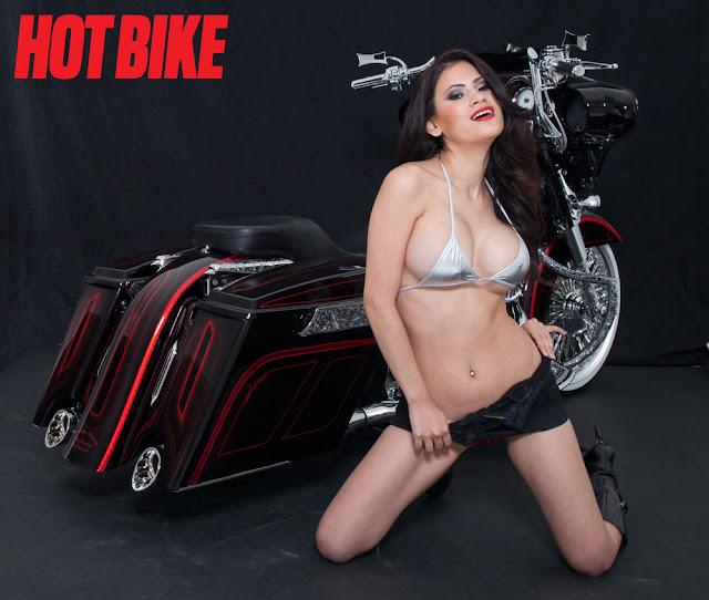 Hot Bike Model - Vanessa Veracruz