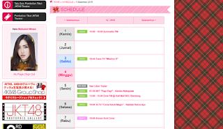 Jadwal JKT48