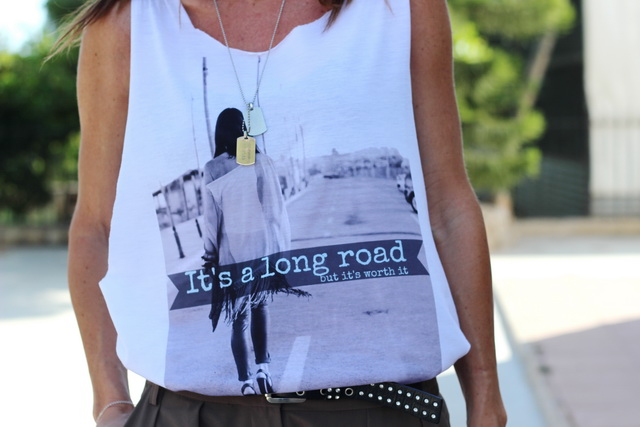 streetstyle - fashion t-shirt - white t-shirt - blogger - fashion - tendences