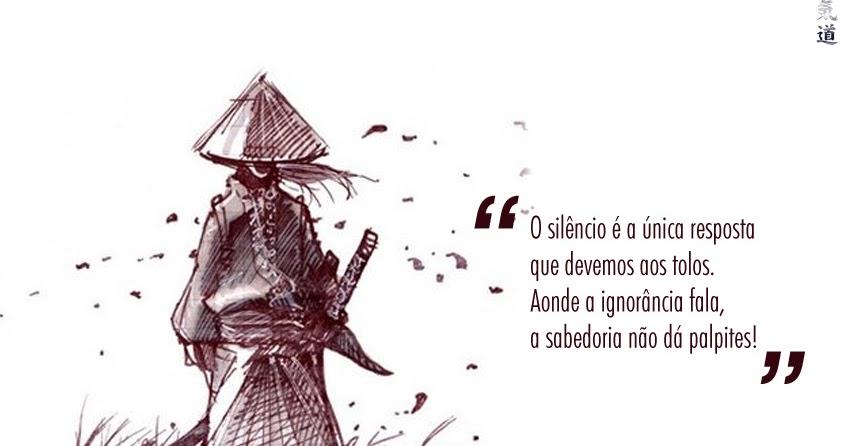 O Silêncio é A única Resposta Que Devemos Dar Aos Tolos: Aikido Brasil: Silêncio