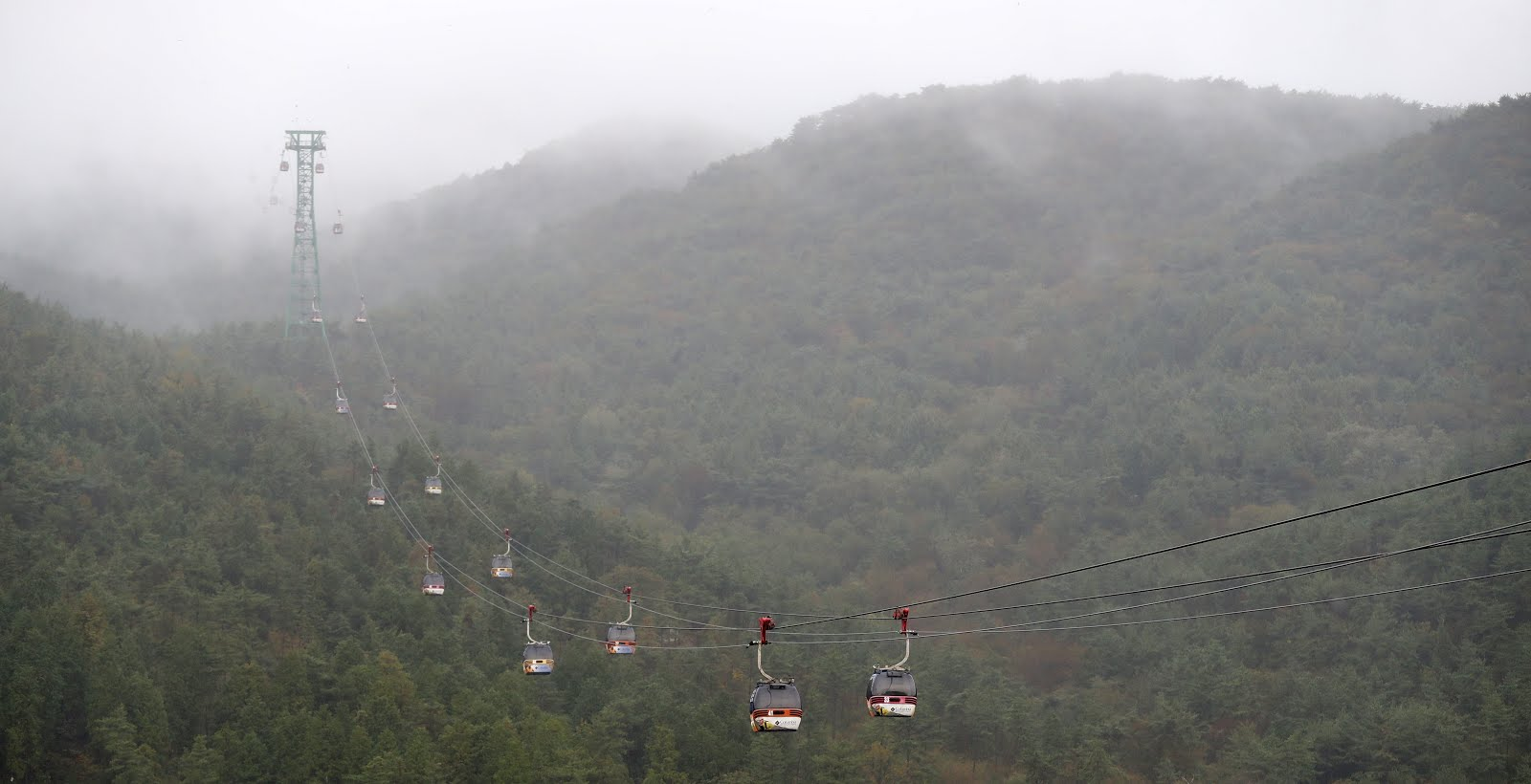 Exploring the southern part of country with an exciting itinerary in Korea's longest ropeway.