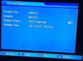 Update SW Matrix Burger S1 HD Juni 2018