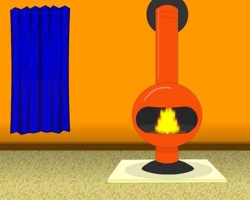 MouseCity Escape Orange Colored Room