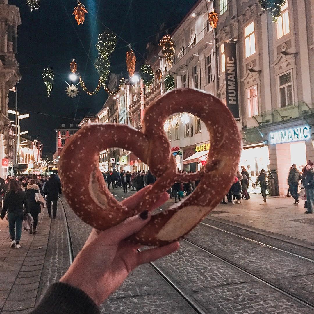 precel Austriacki, Austria, Graz, market świąteczny, weihnachtsmarkt, graz markets