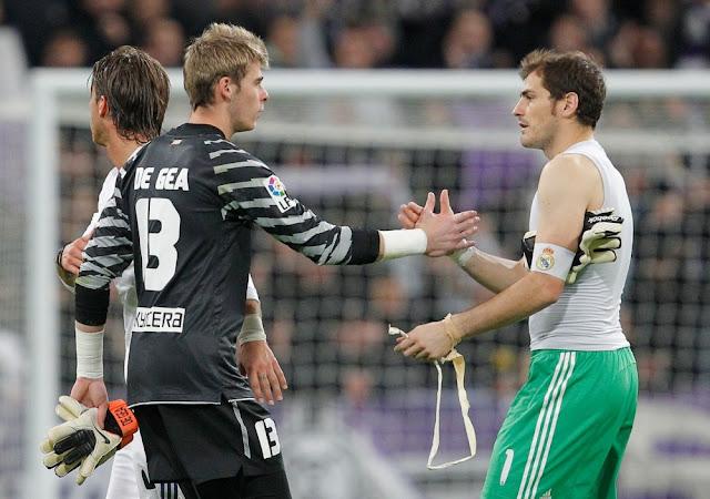 De Gea, la gran amenaza de Casillas... también en adidas