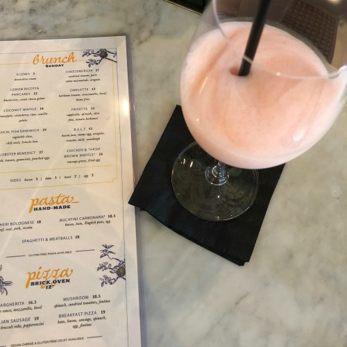 Grato West Palm Beach Florida brunch frosé