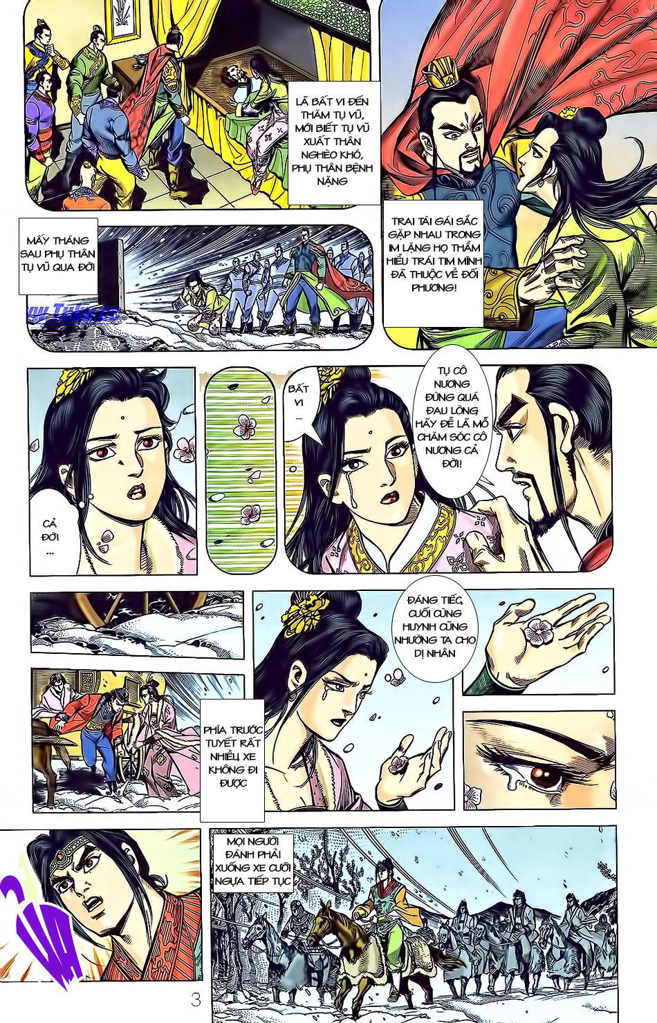 Tần Vương Doanh Chính chapter 3 trang 8
