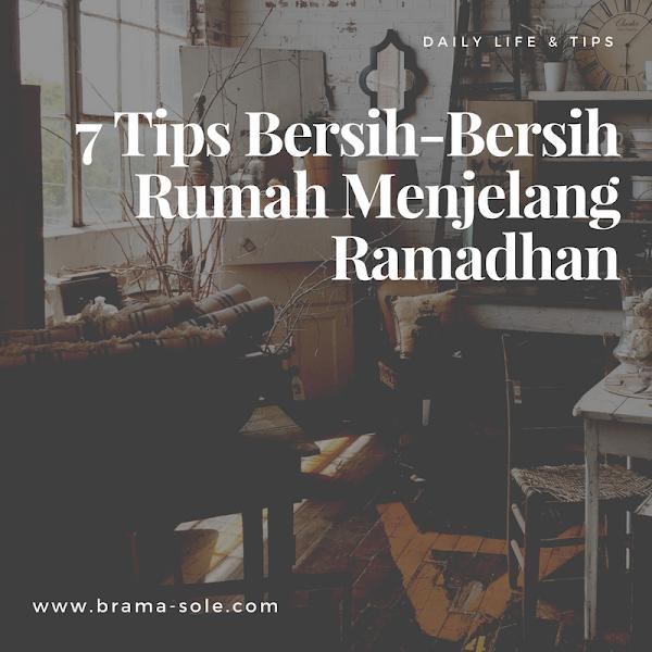 7 Tips Membersihkan Rumah Menjelang Puasa Ramadan