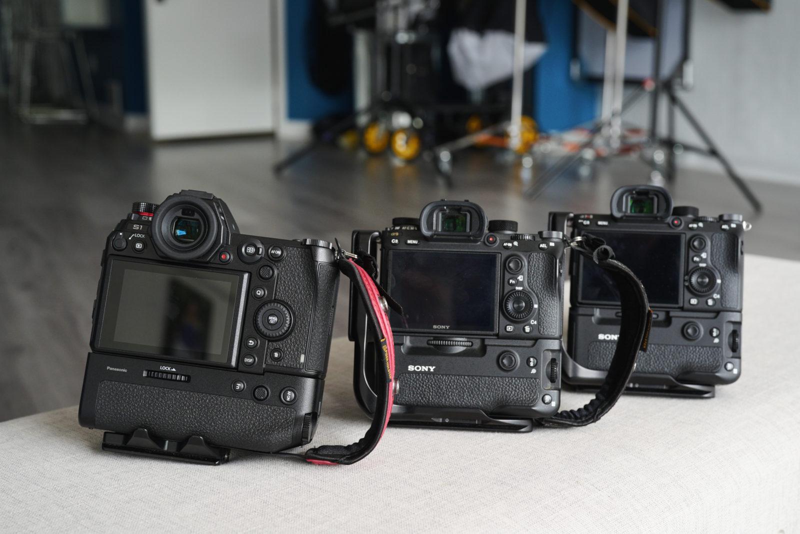 Panasonic Lumix S1, Sony A9, Sony A7R III
