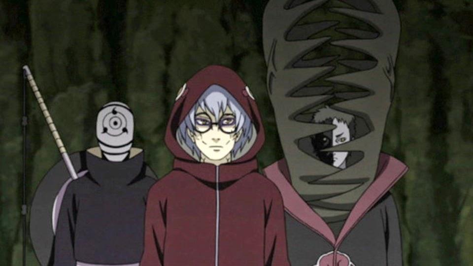 Tobi, Kabuto y Zetsu